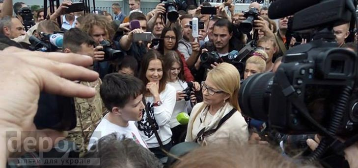 Як Україна зустрічає Надію Савченко (ФОТОРЕПОРТАЖ) - фото 13