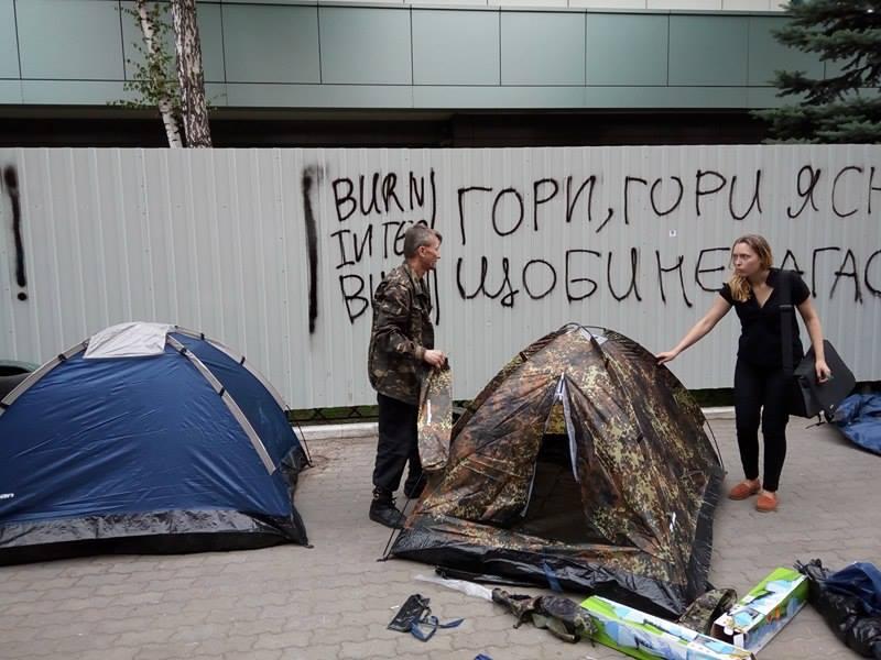 """Третій Майдан підкрався непомітно. Під """"Інтер"""" - фото 1"""