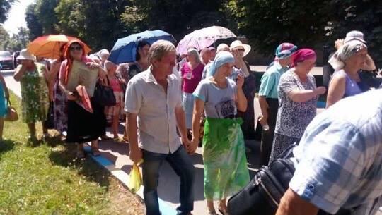 Як під час хресної ходи несуть ікону Тимошенко - фото 1