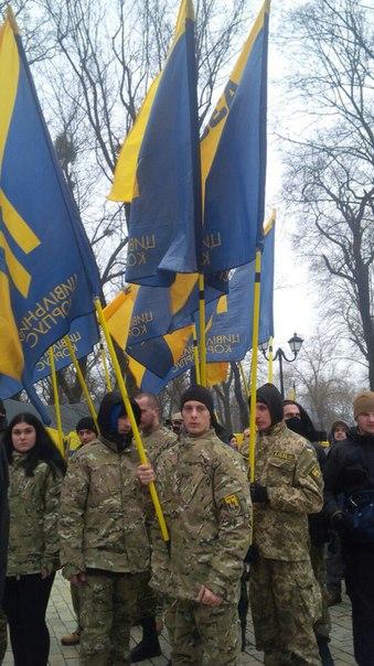 """""""Азовці"""" організували ходу на підтримку Краснова - фото 1"""