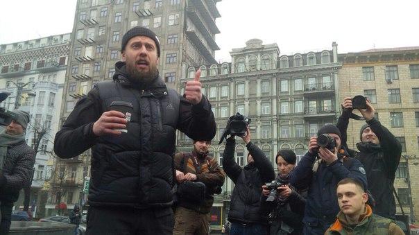 """""""Азовці"""" організували ходу на підтримку Краснова - фото 4"""