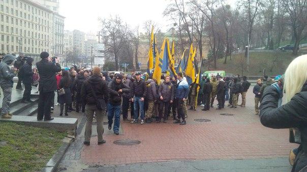 """""""Азовці"""" організували ходу на підтримку Краснова - фото 5"""