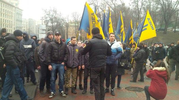 """""""Азовці"""" організували ходу на підтримку Краснова - фото 6"""