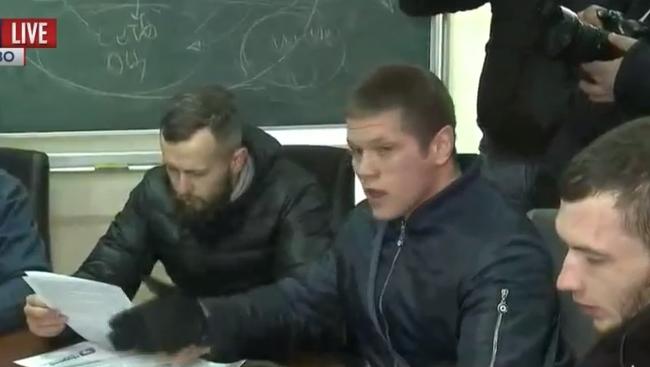 """""""Азовці"""" блокують захід Медведчука - фото 2"""