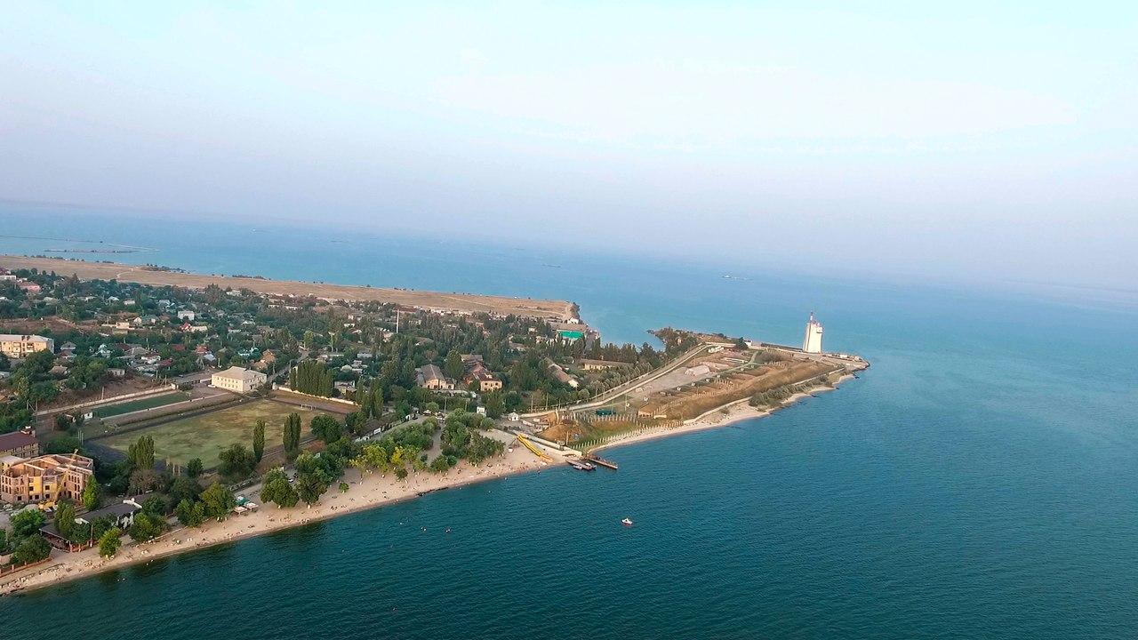 Очаківець показав Чорноморське узбережння з висоти пташиного польоту