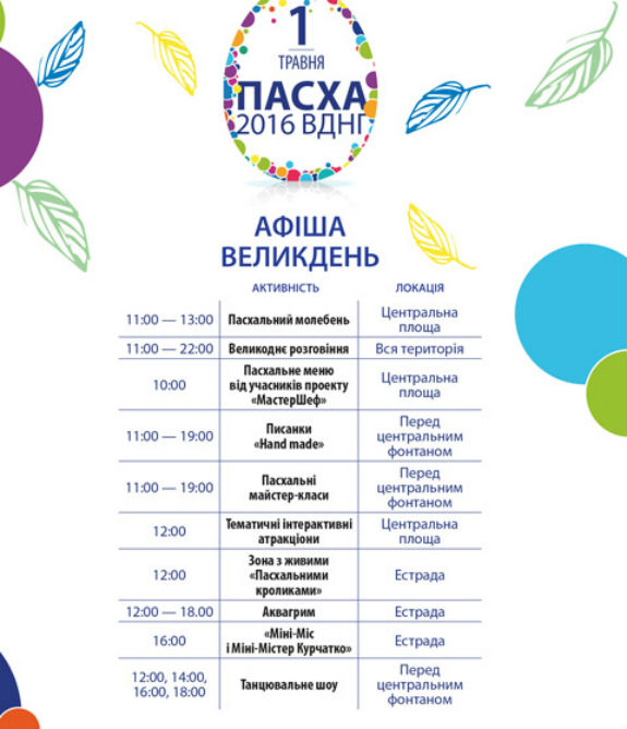 Травневі гуляння на ВДНГ у Києві: 10 зон відпочинку, сад бажань та майстер-класи   - фото 2