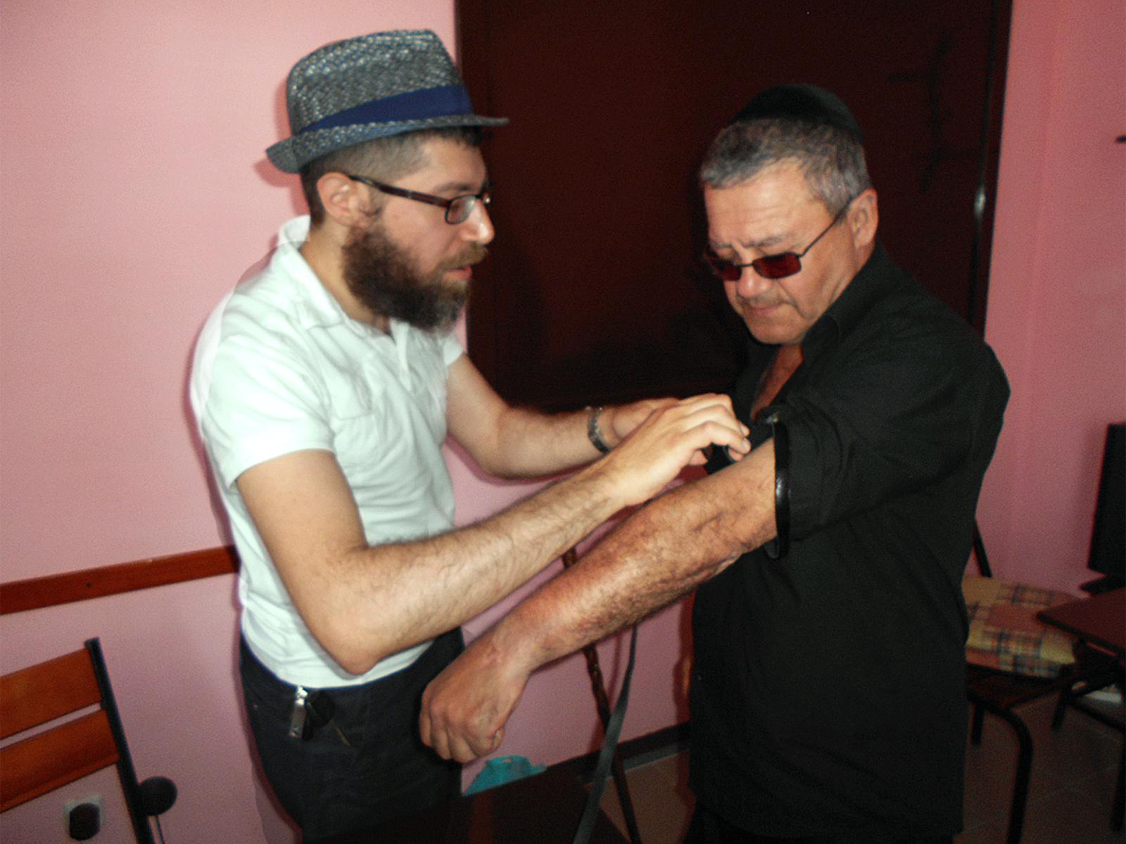 У Харкові в колонії відсвяткували єврейське свято - фото 1