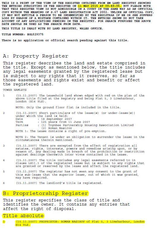 Насіров приховав у декларації бізнес дружини в Лондоні та Києві, - ЗМІ - фото 6