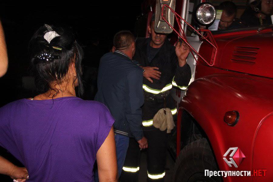 Нова Врадіївка: місцеві палили шини під відділом поліції