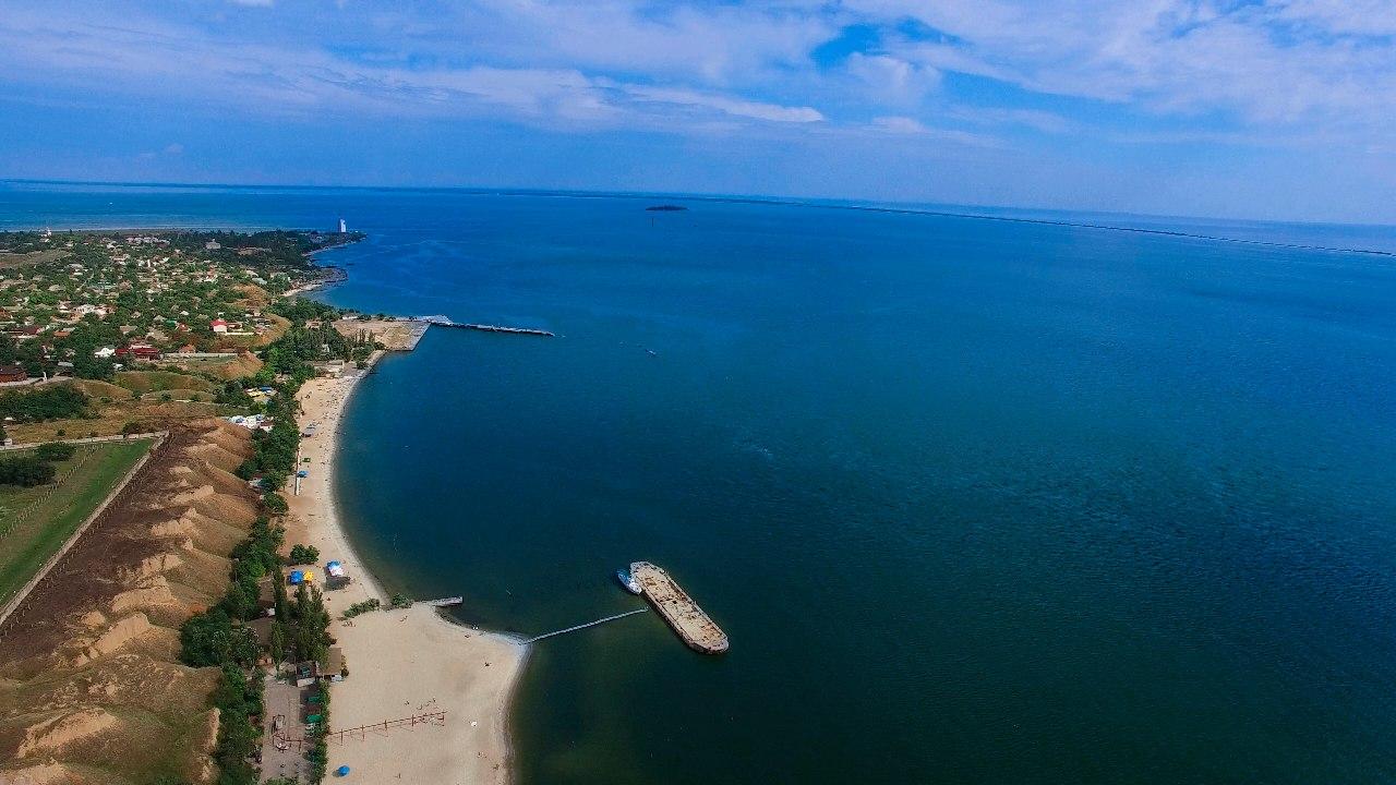 Очаківець показав Чорноморське узбережжя з висоти пташиного польоту