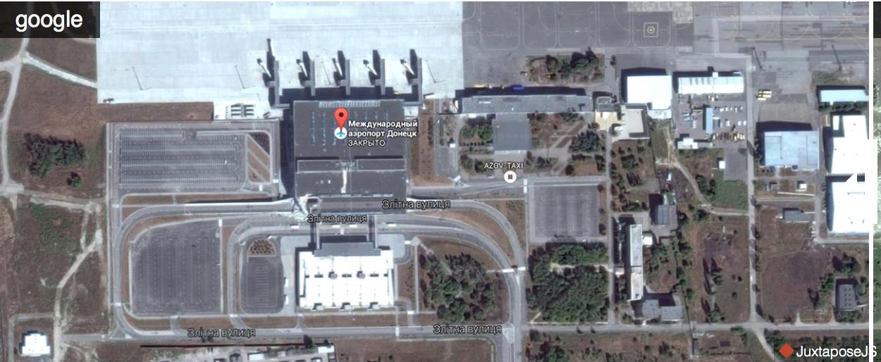 Як виглядає аеропорт Донецька на оновлених Яндекс.Мапах (ФОТО) - фото 1