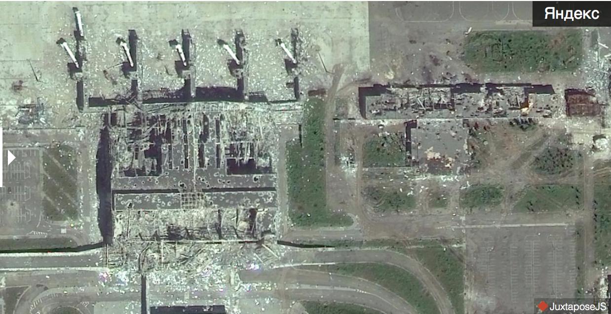Як виглядає аеропорт Донецька на оновлених Яндекс.Мапах (ФОТО) - фото 4