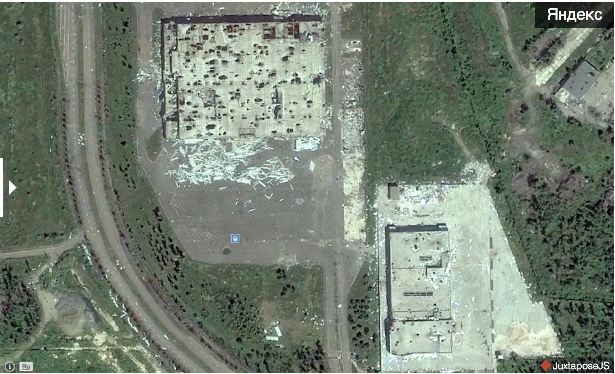 Як виглядає аеропорт Донецька на оновлених Яндекс.Мапах (ФОТО) - фото 10