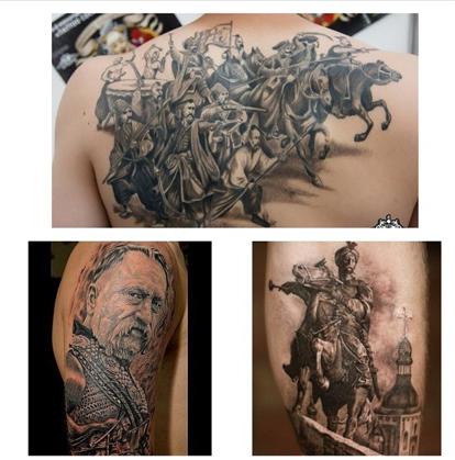 русский медведь фото тату