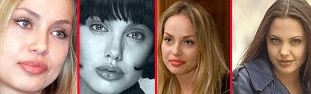 Як виглядають двійники 40-річної Анджеліни Джолі - фото 1