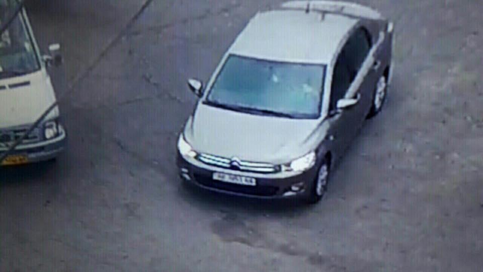 Стало відомо, на якому авто пересувається вбивця поліцейського у Дніпрі - фото 1