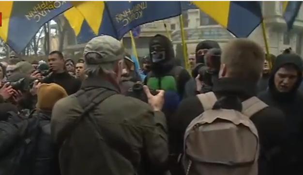 """""""Азовці"""" організували """"вогневу"""" ходу на підтримку Краснова - фото 10"""