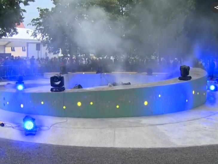 У Словенії відкрився перший фонтан пива - фото 4