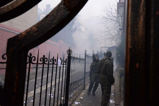Як у Львові спалили російський прапор - фото 6
