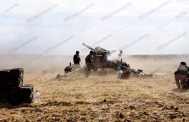 """Як під Бердянському тренуються """"Боги війни""""  - фото 1"""