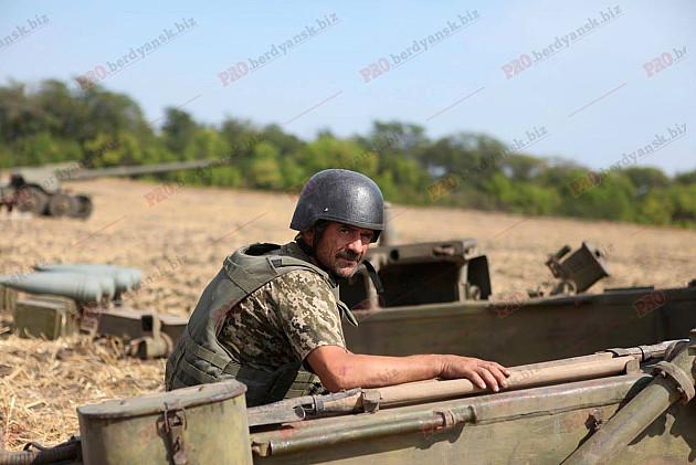 """Як під Бердянському тренуються """"Боги війни""""  - фото 3"""