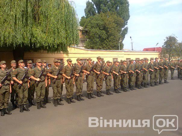 У Вінниці  склали присягу 90 призовників - фото 4