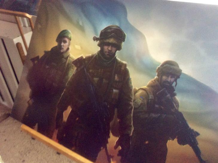 Подвиги прикордонників експонуються на полотнах Беати Куркуль в Хмельницькому - фото 7