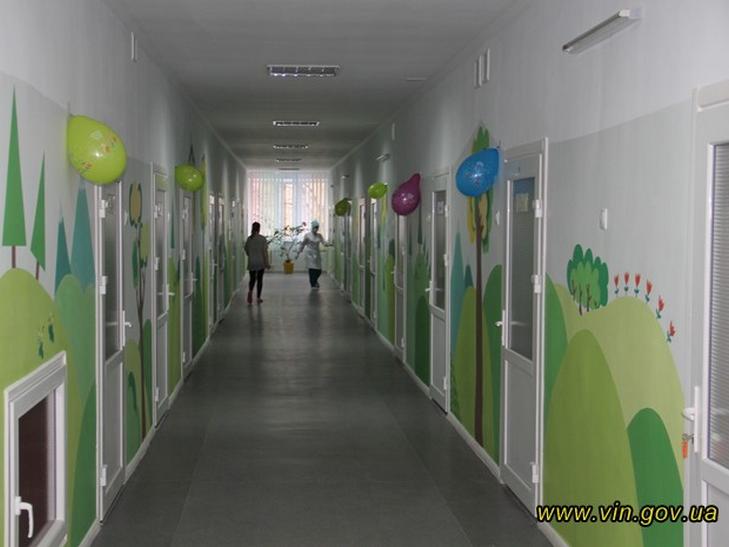 У Вінниці дитячу лікарню відремонтували за 1,5 млн. грн. - фото 1