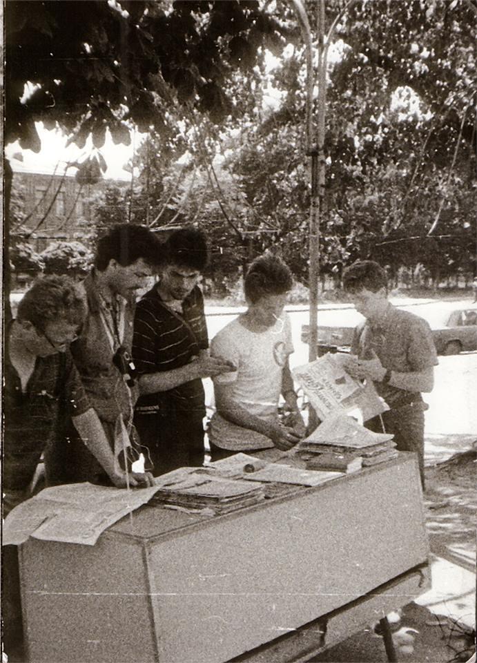 Тягнибок похвалився, як студентом здобував Незалежність (ФОТО) - фото 1