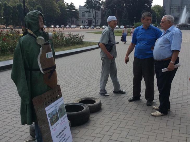 Василь Гандзюк з Хмельниччини проводить уже 48 акцію протесту - фото 3