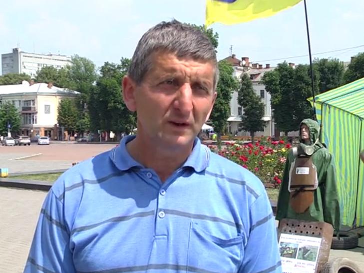 Василь Гандзюк з Хмельниччини проводить уже 48 акцію протесту - фото 4
