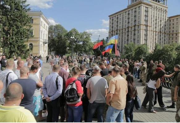 """""""Правий сектор"""" збирається на віче на Майдані (ФОТО) - фото 2"""