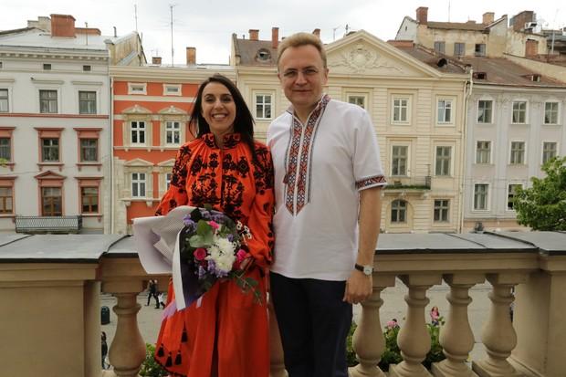 Джамала залишила запис у Книзі почесних гостей Львова - фото 1