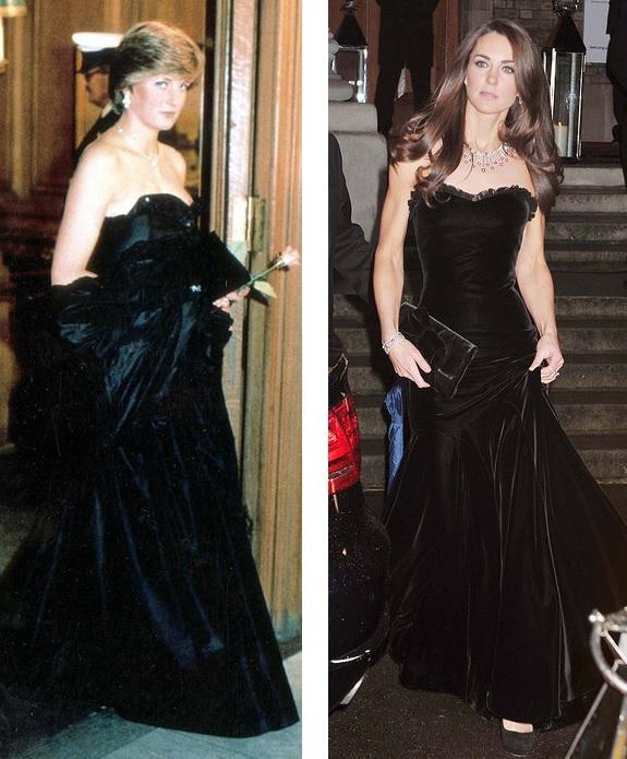 Як Кейт Міддлтон косить під принцесу Діану - фото 26