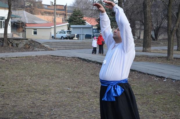 Топ-10 вправ справжньої січової зарядки від головного козака України Олександра Притули - фото 3