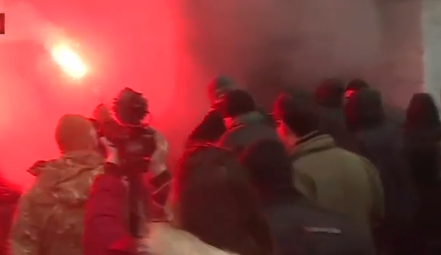 """""""Азовці"""" організували """"вогневу"""" ходу на підтримку Краснова - фото 7"""