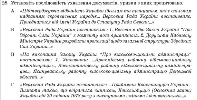 Абітурєнтам відмовили у перегляді результатів ЗНО через питання про АТО - фото 1