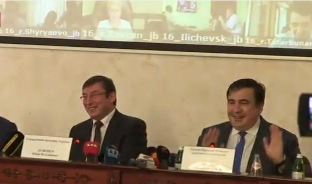 """""""Головне, щоб не ззаду"""": Як Луценко жартував про геїв із Саакашвілі  - фото 1"""