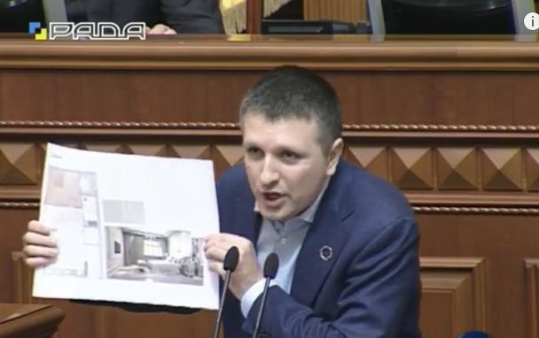 У Раді показали спальню першого заступника Саакашвілі - фото 1