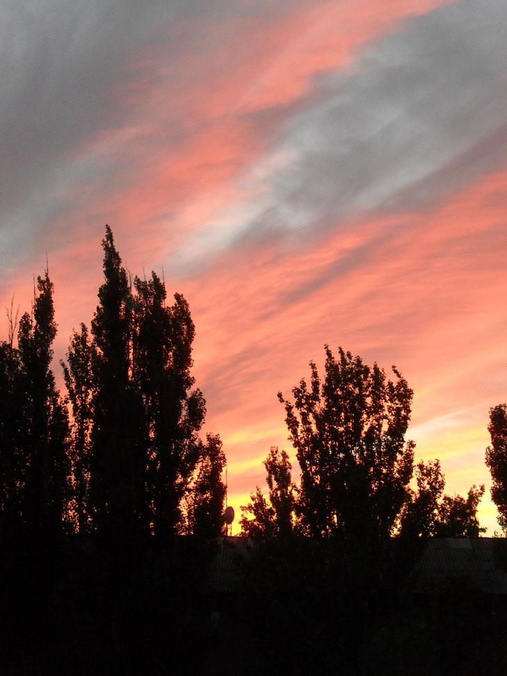 Мешканців Мелітополя вразив дивовижних захід сонця - фото 6