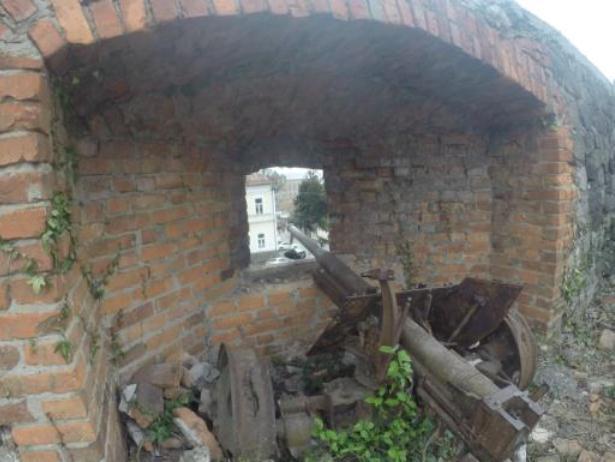 Закарпатці висадять городину на окопах Ужгородського замку (ФОТОФАКТ) - фото 2