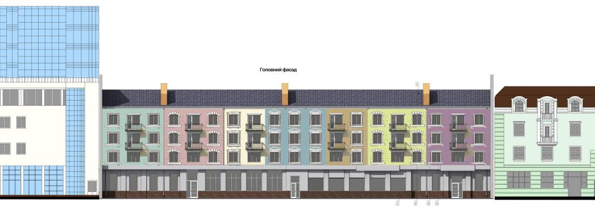 """Будинок в центрі Вінниці почав перетворюватись на """"Старий Амстердам"""" - фото 2"""