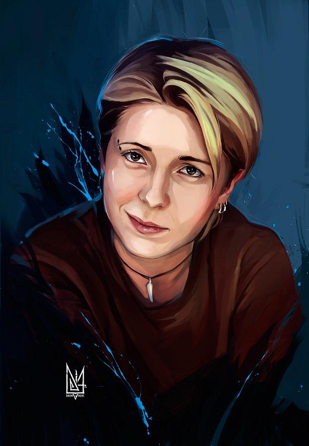 Запорізький художник створює галерею портретів українських волонтерів - фото 4