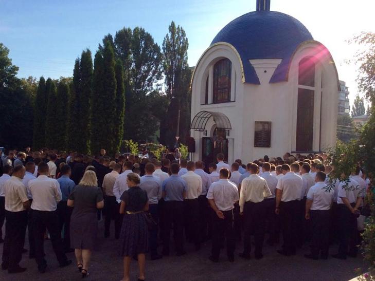 Поліція Хмельницького вперше відзначає професійне свято - фото 1