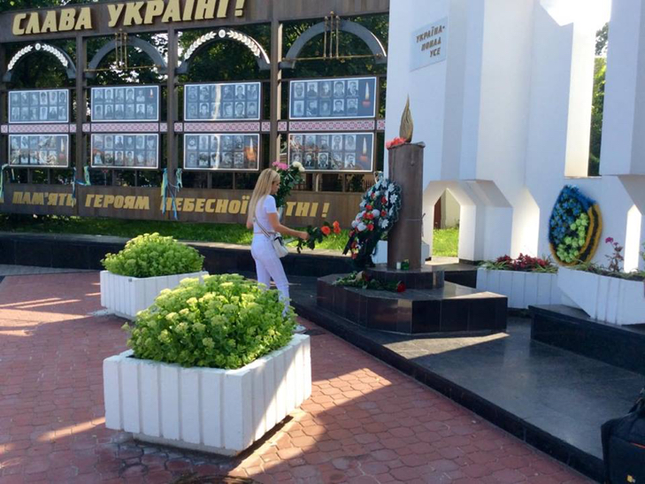 Народні Герої України вклонилися полеглим бійцям з Хмельниччини - фото 9