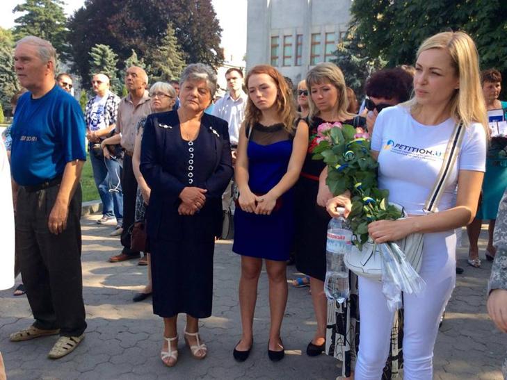 Народні Герої України вклонилися полеглим бійцям з Хмельниччини - фото 6