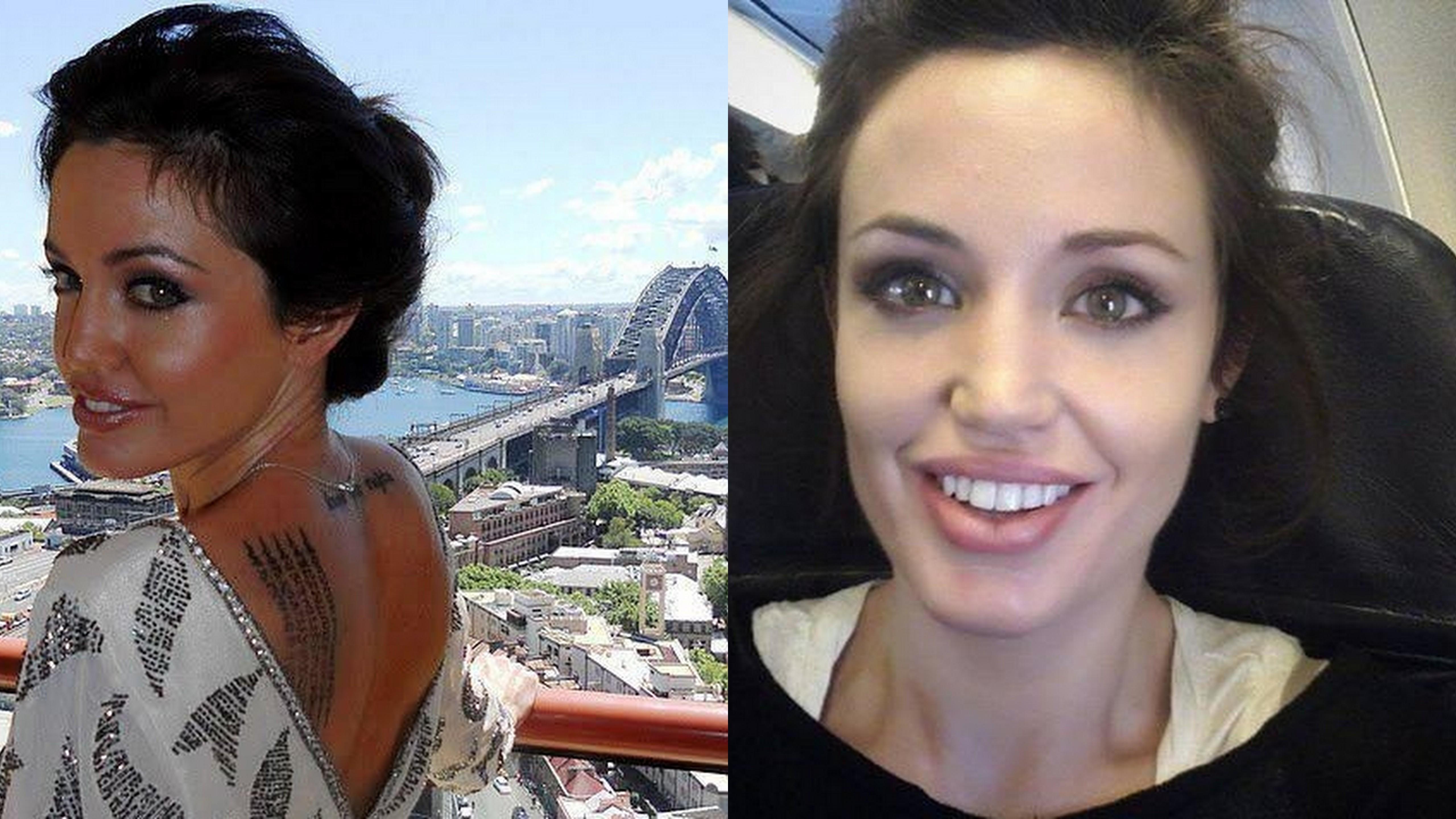 Кожній країні по Анджеліні: Як виглядають двійники Анджеліни Джолі - фото 6