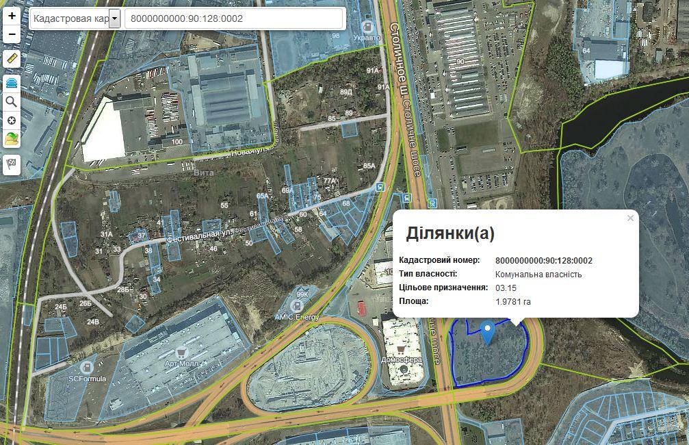 Кононенко орендував землю всередині розв'язки у Києві, де буде будувати офіс замість СТО - фото 1