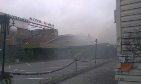 У Харкові під ранок спалахнув нічний клуб  - фото 2