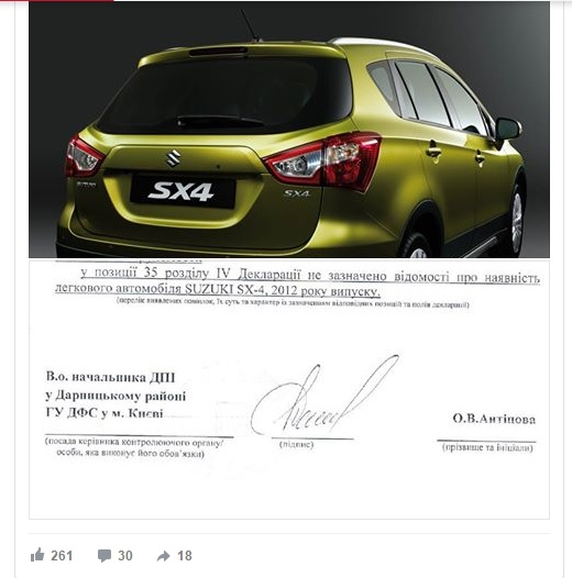 Головна люстраторка Мін'юсту хоче подарувати своє авто людині, яка його знайде - фото 2
